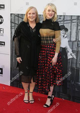 Krista Stone and Emma Stone