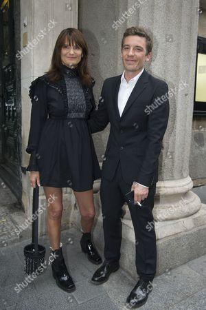 Marie Amelie Sauve and Julien Dossena