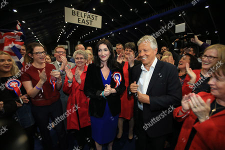 Emma Little Pengelly and Peter Robinson