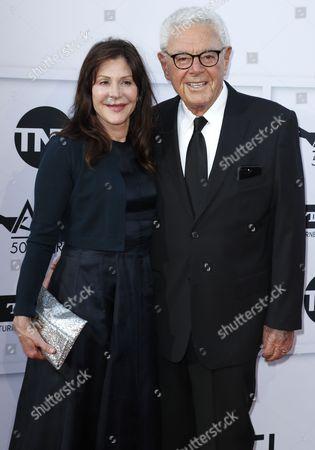 Richard Donner and Lauren Donner