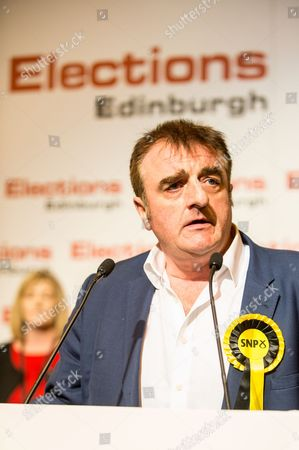 General Election 2017 count at Meadowbank Stadium, Edinburgh  Tommy Sheppard SNP retains his seat of Edinburgh East