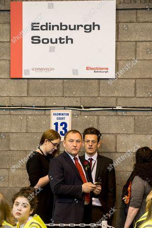General Election 2017 count at Meadowbank Stadium, Edinburgh - Ian Murray