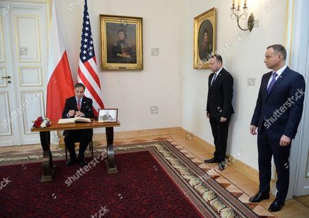 Andrzej Duda and Paul W. Jones