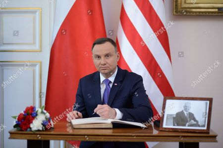 Stock Picture of Andrzej Duda