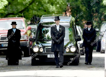 The funeral of Roy Barraclough