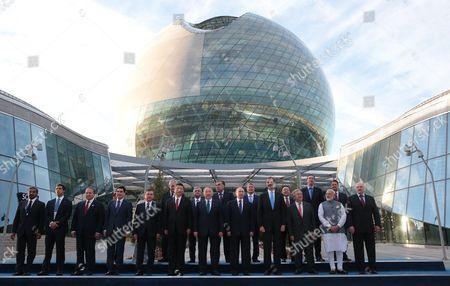 Editorial picture of Astana EXPO 2017 opening ceremony, Kazakhstan - 09 Jun 2017