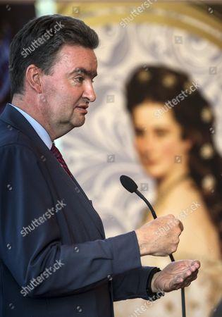 Editorial image of 150th anniversary of the Hungarian coronation of Emperor Franz Joseph, Godollo, Hungary - 09 Jun 2017