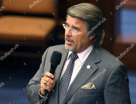 Senator Gary Farmer, D-Lighthouse Point, debates against the education portion of the budget for not providing enough funding during session, in Tallahassee, Fla