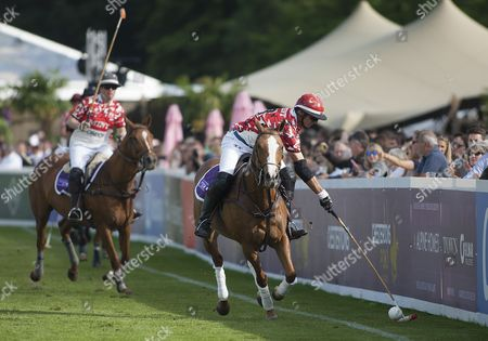 Editorial photo of Chestertons Polo in the Park 2017, Hurlingham Park, London SW6, United Kingdom, 9th June 2017