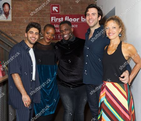 Arian Nik, Ronke Adekoluejo, Roy Alexander Weise (director), Charlie Dorfman and Indra Ove