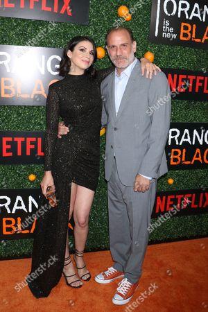 Beth Dover and Nick Sandow