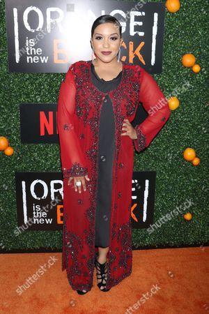 Editorial image of 'Orange is the New Black' season five TV show premiere, Arrivals, New York, USA - 09 Jun 2017