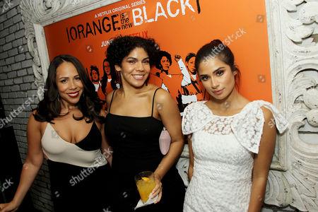 Laura Gomez, Daniella De Jesus, Diane Guerrero