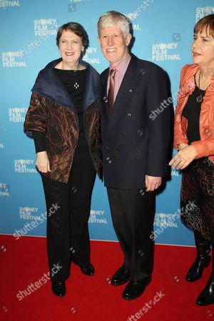 Helen Clark and Peter Davis