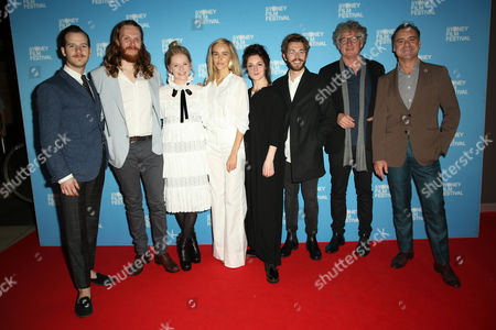 Stock Image of L-R: Lloyd Allison-Young, Gregory Erdstein, Alice Foulcher, Isabel Lucas, Janine Watson, Rowan Davie, Andrew Gilbert and Andrew O'Keefe