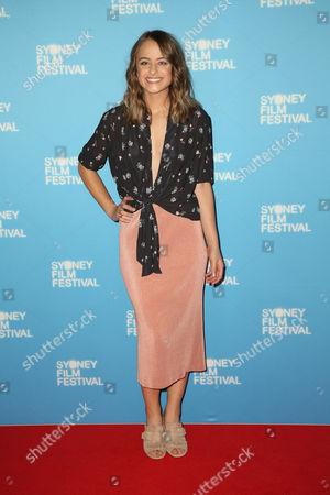 Editorial image of 'That's Not Me' film premiere, 64th Sydney Film Festival, Australia - 10 Jun 2017