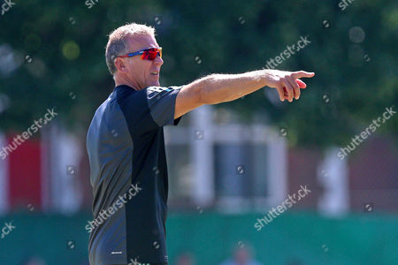 Alec Stewart of Surrey CCC during Surrey CCC vs Essex CCC, Specsavers County Championship Division 1 Cricket at Guildford CC, The Sports Ground on 10th June 2017