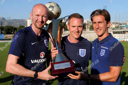 Editorial photo of England Under-18 v Ivory Coast Under-20, Toulon Tournament Final, Football, Stade de Lattre-de-Tassigny, Aubagne, Bouches-du-Rhone, France - 10 Jun 2017