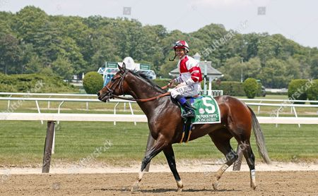 SONGBIRD (Mike Smith) after The 49th running of The Ogden Phipps Stakes at Belmont Park USA