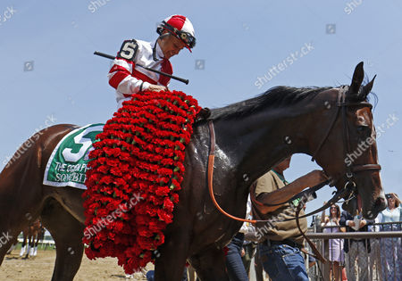 SONGBIRD (Mike Smith) after The 49th running of The Ogden Phipps Stakes Belmont Park USA
