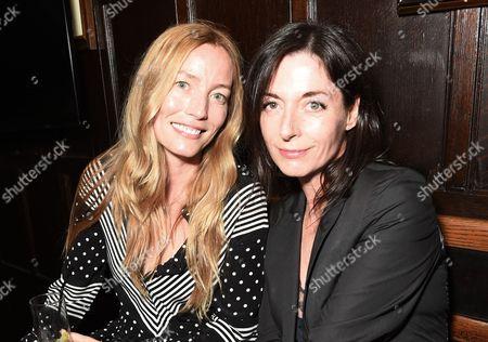 Lucie de la Falaise and Mary McCartney