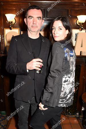 Simon Aboud and Mary McCartney