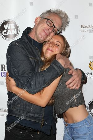 Stock Photo of Andy Dick and Meg Dick