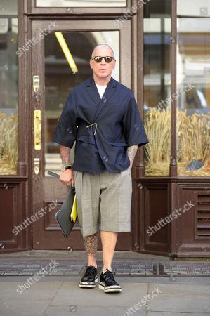 Nick Wooster, Street Style on Jermyn street,