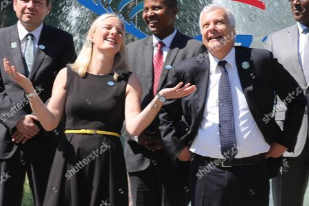 Catherine McKenna and Gian Luca Galletti