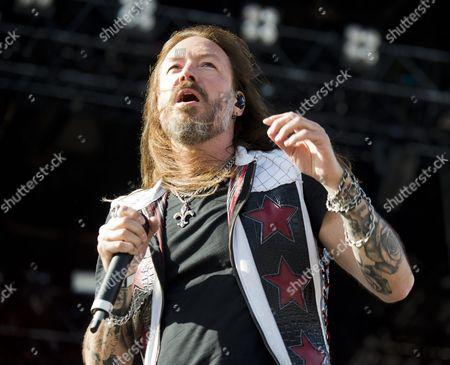 Editorial photo of Sweden Rock Festival, Day 4, Solvesborg - 10 Jun 2017