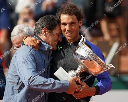 Toni Nadal and Rafael Nadal (Esp)