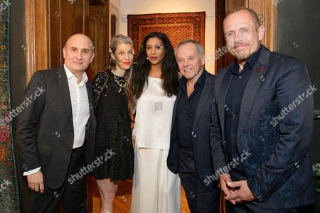 Ali Rahimi, Carina Pirngruber, Gelila Assefa, Wolfgang Puck, Gery Keszler