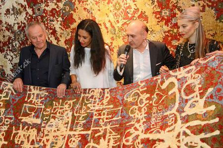 Wolfgang Puck, Gelila Assefa, Ali Rahimi, Carina Pirngruber