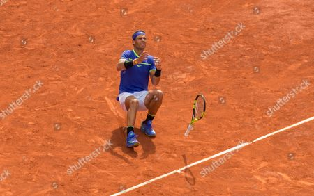 Editorial photo of French Open Tennis, Day Fifteen , Roland Garros, Paris, France - 11th  June  2017