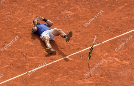 Editorial picture of French Open Tennis, Day Fifteen , Roland Garros, Paris, France - 11th  June  2017