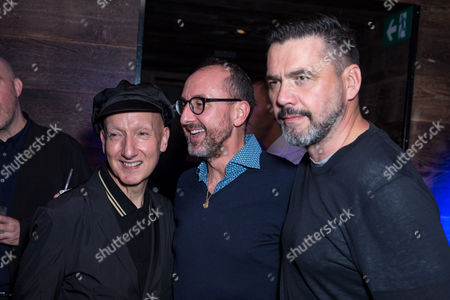 Stephen Jones, Gianluca Longo and Roland Mouret