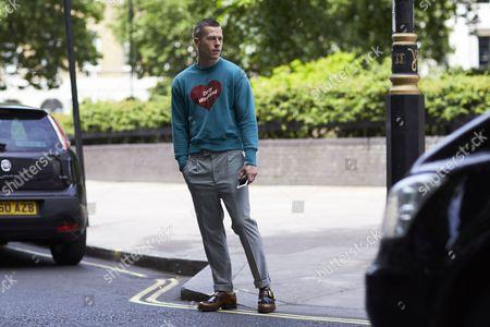 Editorial picture of Street Style, Spring Summer 2018, London Fashion Week Men's, UK - 11 Jun 2017
