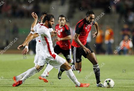 Editorial image of Tunisia vs Egypt, Tunis - 11 Jun 2017