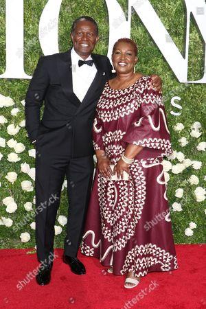 Editorial photo of 71st Annual Tony Awards, Arrivals, New York, USA - 11 Jun 2017