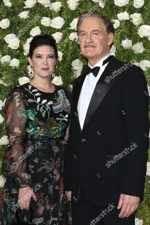 Editorial picture of 71st Annual Tony Awards, Arrivals, New York, USA - 11 Jun 2017