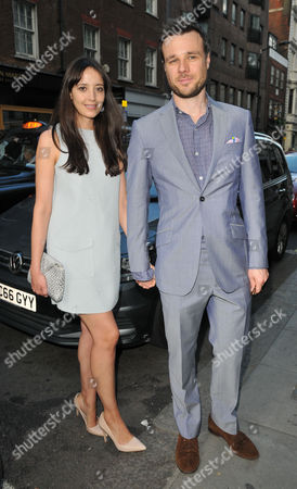 Stock Photo of Olivia Bennett and Rupert Evans