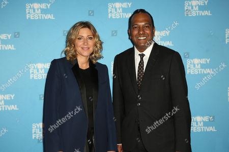 Amanda Sthers (Director) and Nashen Moodley (Sydney Film Festival Director)