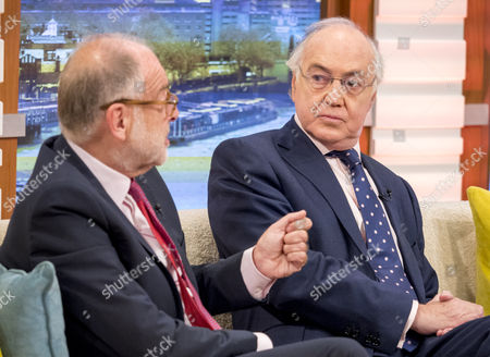 Lord Falconer and Michael Howard