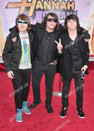 Marc, Mason and Mitchell Musso
