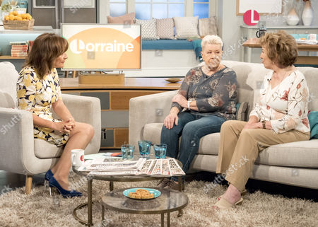 Lorraine Kelly with Laila Morse and Edwina Currie