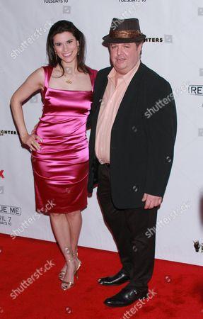 Milena Govich and John Scurti