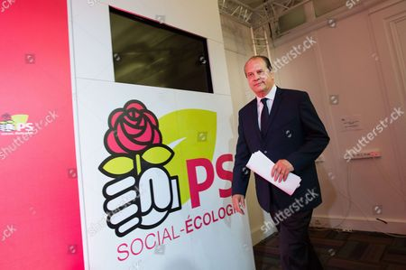 French Socialist Party (PS) First Secretary Jean-Christophe Cambadelis