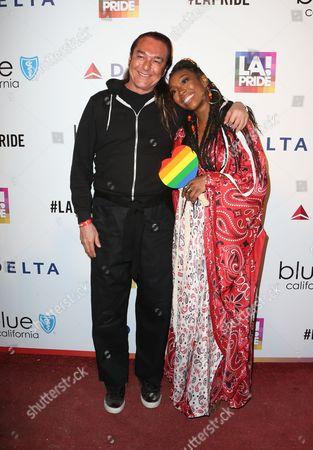 Editorial photo of LA Pride Day Festival, Los Angeles, USA  - 11 Jun 2017
