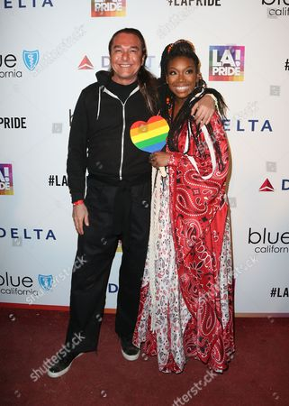 Editorial image of LA Pride Day Festival, Los Angeles, USA  - 11 Jun 2017
