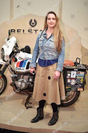 Daisy De Villeneuve attends the Belstaff Spring/Summer 18 presentation 'Paris to Dakar' during London Fashion Week Men's June 2017, at Somerset House